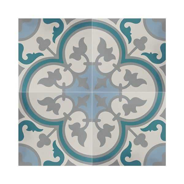 Casa in Multicolor Handmade 8x8-in Moroccan Tiles (Pack 12)